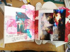 Fashion Sketchbook - fashion design research & inspiration pages; fashion student portfolio development // Cæcilie Dyrup, graduate collection