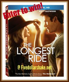 Enter to win a Blu-ray combo copy of The Longest Ride
