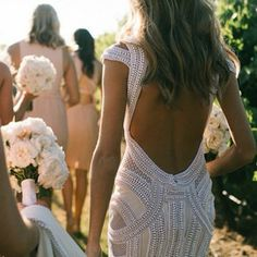JAton low back amazing wedding dress