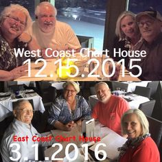 Last dinner in Florida with our cousins Lynn & Glenda Kortz. We had so much fun! Chart House on both coasts! Excited for u two to return to Napa in 4 weeks!