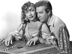 Marlene Dietrich, Ray Milland in 'Golden Earring'1947 ... Gypsy music! | Flickr - Photo Sharing!