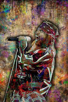 Axl Rose Print, Axl Rose Art, Axl Rose Tribute Artwork, Axl Rose Poster for Guns N' Roses Fans - Modern Axl Rose, Guns N Roses, A Level Art Sketchbook, Heavy Metal Rock, Colorful Artwork, Rose Wallpaper, Rose Art, Art Pictures, Rock And Roll