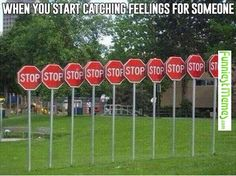 Funniest Memes - [When You Start Catching Feelings...]
