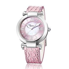 """Never miss a single chance to express love. To welcome the near Valentine Chopard releases the Imperiale """"La Vie en Rose"""". With a delightful pastel pink this watch distils a wealth of details through the stature of Roman numerals. #Chopard #Valentine #Love #Pink #watch  via MARIE CLAIRE INDONESIA MAGAZINE OFFICIAL INSTAGRAM - Celebrity  Fashion  Haute Couture  Advertising  Culture  Beauty  Editorial Photography  Magazine Covers  Supermodels  Runway Models"""