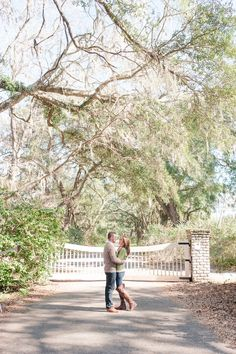 We love this sweet southern engagement session! | Charlotte wedding, Charlotte wedding vendors, engagement, engagement session, NC wedding, NC wedding vendors | Photography @KEPhotoCLT