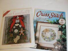Lot of 2 Cross Stitch Pattern Books/Magazines by TrinitysWorld