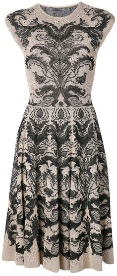 Jacquard-Kleid von Alexander McQueen auf shopstyle.de