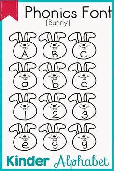32 Phonics Fonts for Teachers Teacher Fonts, Technology Websites, Classy Fonts, Hoppy Easter, Literacy Activities, English Lessons, Phonics, School Stuff, Clip Art
