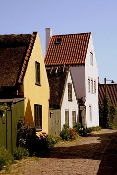 Three little houses in Dragør - Dragoer, Kobenhavn