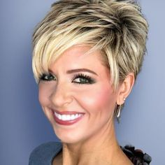 Today we have the most stylish 86 Cute Short Pixie Haircuts. We claim that you have never seen such elegant and eye-catching short hairstyles before. Pixie haircut, of course, offers a lot of options for the hair of the ladies'… Continue Reading → Pixie Haircut For Thick Hair, Short Choppy Hair, Short Grey Hair, Short Hairstyles For Thick Hair, Short Hair With Layers, Popular Short Hairstyles, Older Women Hairstyles, Pixie Haircut Layered, Weave Hairstyles