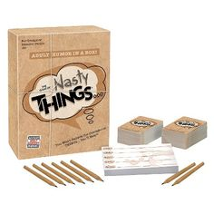 The Game of Nasty Things... Adult Game : Target