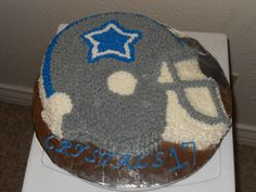 Dallas Cowboys Themed Birthday Cake