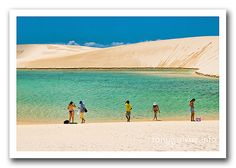 Lençóis Maranhenses, Brazil (Desert with lagoons) Cool Places To Visit, Places To Travel, Travel Destinations, Visit Brazil, Brazil Travel, Golf Courses, Waves, Vacations, Outdoor