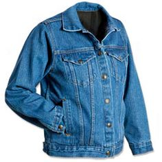 Women's Concealed Carry Denim Jacket - Made in the USA
