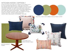 navy blue orange moroccan color scheme - Google Search