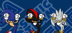 Sonic the Hedgehog images Sonic, Silver, and Shadow carameldesen wallpaper and background photos