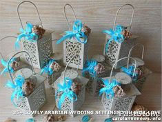Beautiful Arabian Wedding Settings You Will Love. For the theme of Islamic marriage, the elements contained in the marriage of Islamic countries such as Arabia or Pakistan w. Wine Wedding Favors, Wedding Reception Flowers, Rose Wedding Bouquet, Wedding Gifts For Guests, Wedding Lanterns, Beach Wedding Decorations, Wedding Centerpieces, Wedding Ideas, Best Wedding Vows