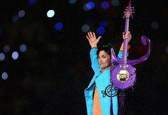 Prince, Super Bowl XLI, Miami, February 2nd 2007.