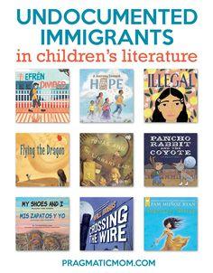 Undocumented Immigrants in Children's Books // PragmaticMom #KidLit #ReadYourWorld #picturebooks #middlegrade #ya Teaching Jobs, Teaching Ideas, Kids Around The World, School Librarian, School Closures, New Teachers, Chapter Books, Children's Literature, Any Book