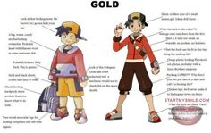 ROFL, this is funny, Pokemon stuff that I never realized