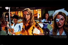 Kill Bill, and yes she did!