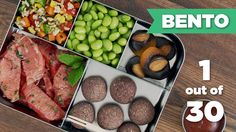 Bento Box Healthy Lunch 1/30 (Vegan)