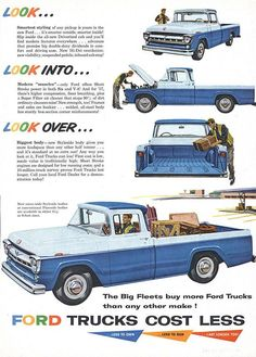 Ford Pick Up Ad