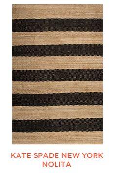 Rug Trend from Elizabeth Lawson Design: Color Blocked - Striped Rugs : kate spade new york Nolita