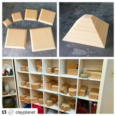 @clayplanet in Santa Clara, California now carries GR Pottery Forms! ・・・ These…