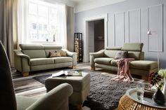 Genießt den #Feierabend mit dieser #Garnitur. #Wohnzimmer #Polstermöbel Findet ihr unter www.moebel-ideal.de