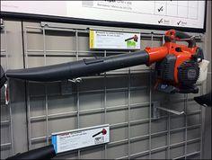 Leaf Blower Loop Hooks For Grid Permanent Mount – Fixtures Close Up Metal Grid, Grid Design, Leaf Blower, Outdoor Power Equipment, Hooks, The Unit, Cleaning, City, Haken