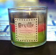Neville Longbottom Candle - Badass Cardigan, Drooble's Best Blowing Gum, and Mimbulus Mimbletonia