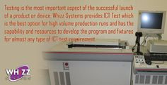 #Whizz #Systems provides #ICT Test which is the best option for high volume #production runs.http://goo.gl/1hTvoc