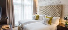 Superior Rooms at the Boutique Ampersand Hotel in London