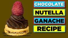 Nutella Ganache, How To Make Chocolate, Chocolate Food, Fun Baking Recipes, Yummy Recipes, Baking Basics, Good Food, Yummy Food, Cupcakes