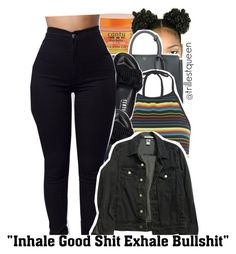 """09-01-2016."" by trillestqueen ❤ liked on Polyvore featuring MCM, Motel, Puma and American Apparel"