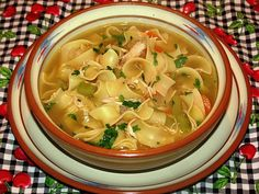 Easy Classic Chicken Noodle Soup