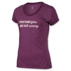 #Runspiration!! Oiselle Everything's Fine Crew Womens Running Short Sleeve Shirt Womens | Run.com | BEGONIA