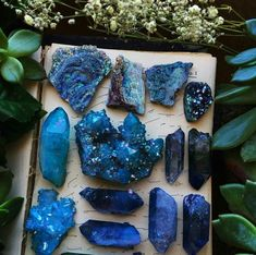 Find images and videos about grunge, blue and indie on We Heart It - the app to get lost in what you love. Crystal Magic, Crystal Grid, Crystal Healing, Quartz Crystal, Crystal Aesthetic, Blue Aesthetic, Minerals And Gemstones, Rocks And Minerals, Blue Gemstones