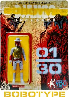 """Django Uncloned """"Bobotype Edition"""" by Good For You Toys 