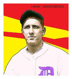 1933 Tattoo Orbit Hank Greenberg, Baseball Cards That Never Were, Detroit Tigers