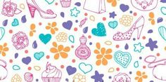 Girly icons clipart