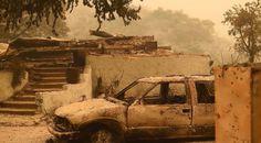 California Fireman VS Wild Fire