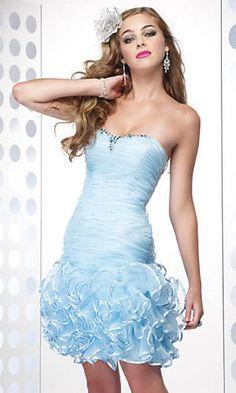 short mermaid dress