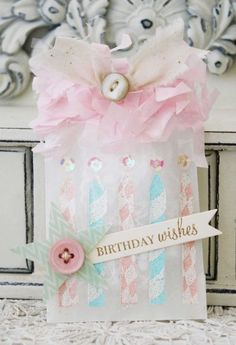 Birthday Wishes Treat Bag by Melissa Phillips for Papertrey Ink (July 2013)
