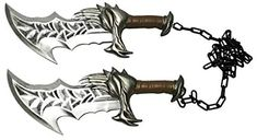 """Amazon.com: 17"""" Medieval New Blades of Chaos Foam Cosplay Costume Party Prop 1:1 Replica: Clothing Party Props, Cosplay Costumes, Blade, Medieval, Amazon, Clothing, Jewelry, Outfits, Amazons"""