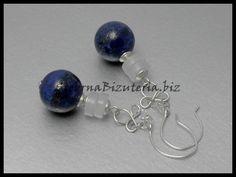 Simple lapis earings for friend