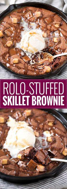 Rolo-Stuffed Skillet