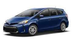 2016 Toyota Prius V at Toyota Town in London Ontario.jpg