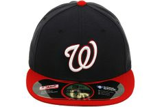 New Era Authentic Collection Washington Nationals 5950 On-Field Alternate  Fitted Hat Mlb Baseball Caps d7a54a2e0a6
